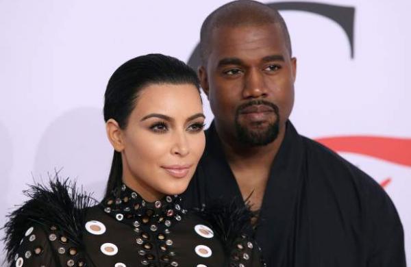 Kim and Kanye google photo