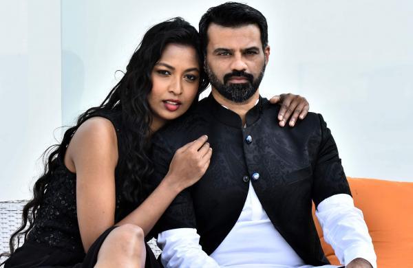 Pavitra Malaiappan and Chaitanya Rao