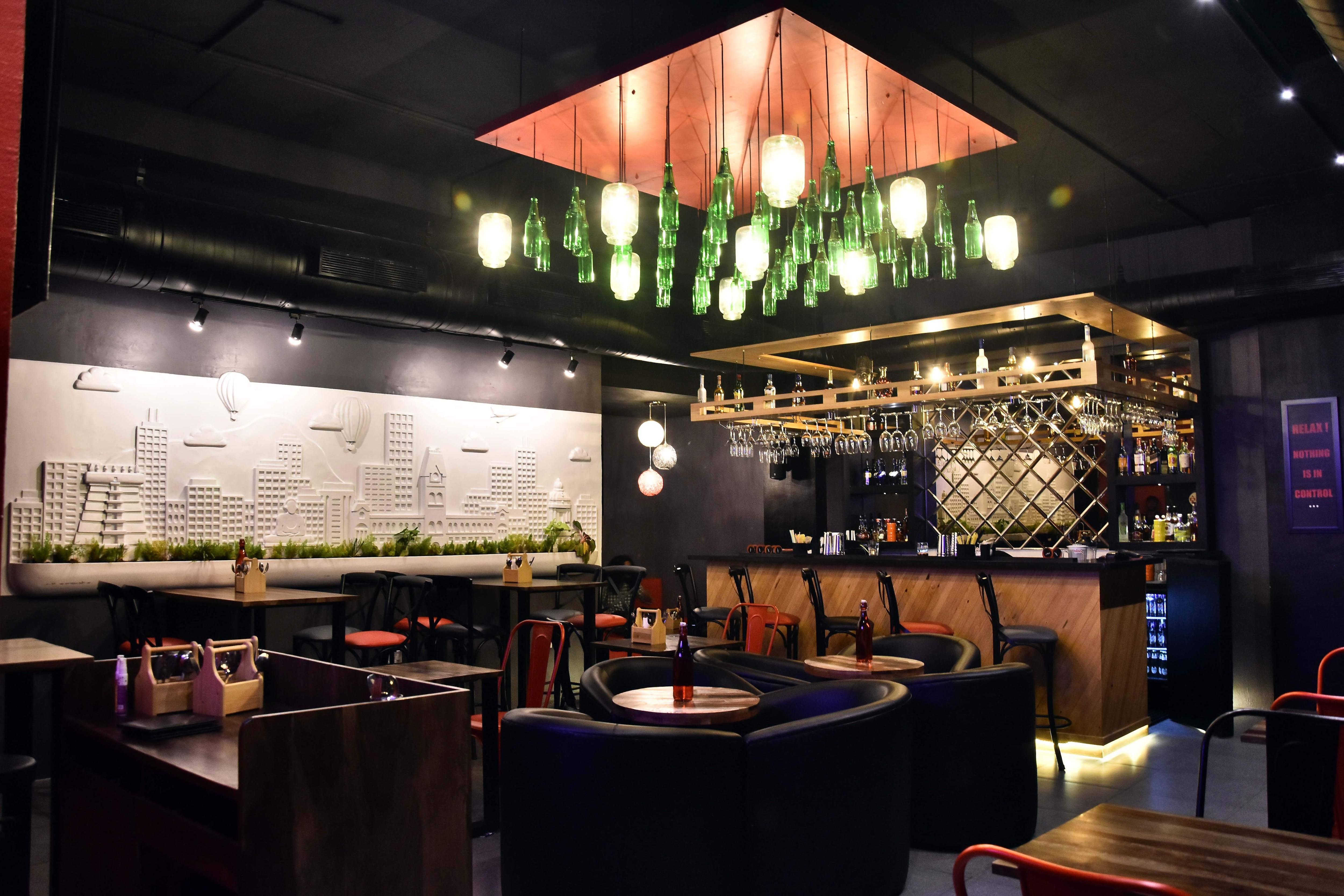 Monk's Plate Resto Bar on ECR