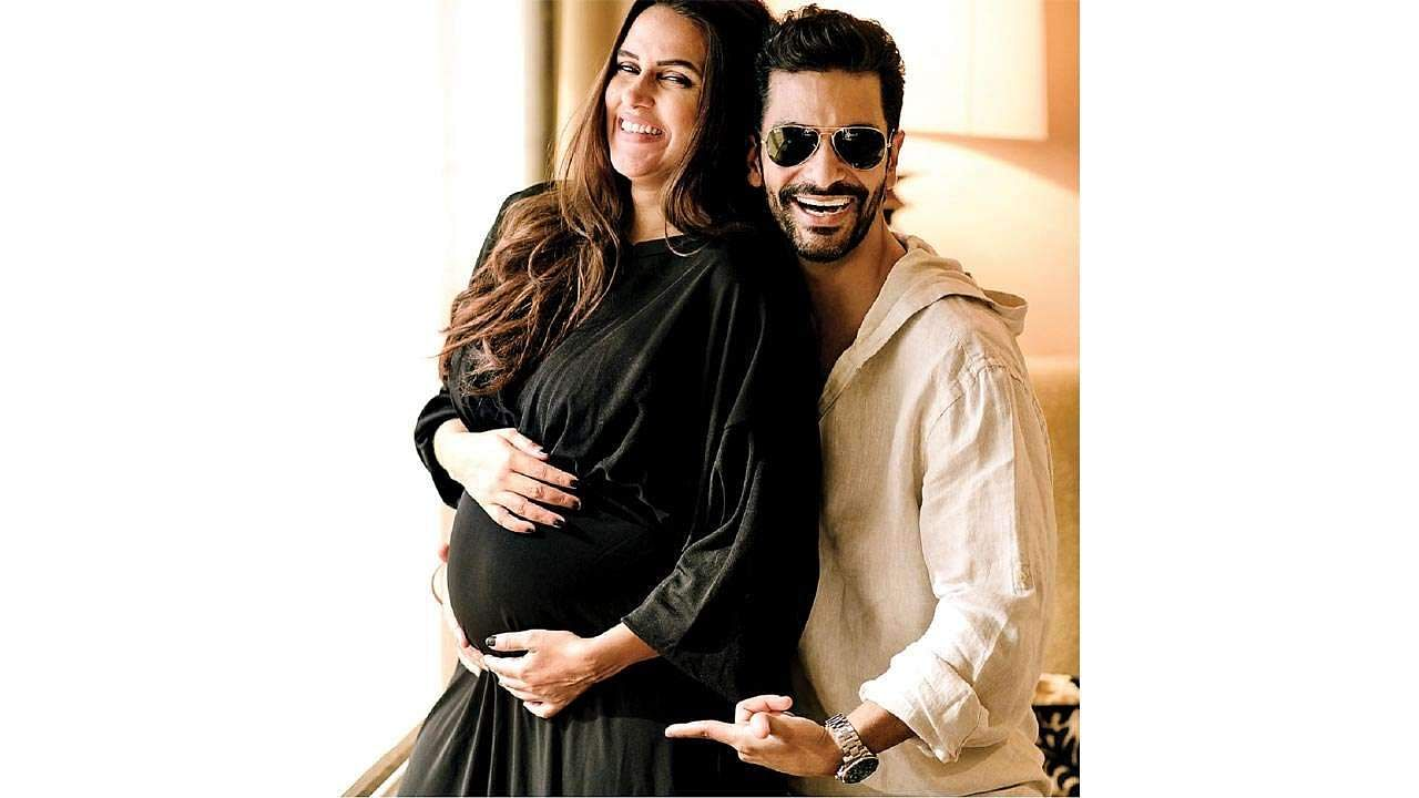 Neha Dhupia and Angad Bedi welcome first child, a baby girl!