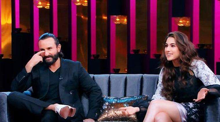 My mom dressed me for my father's marriage Sara Ali Khan reveals on Koffee with Karan