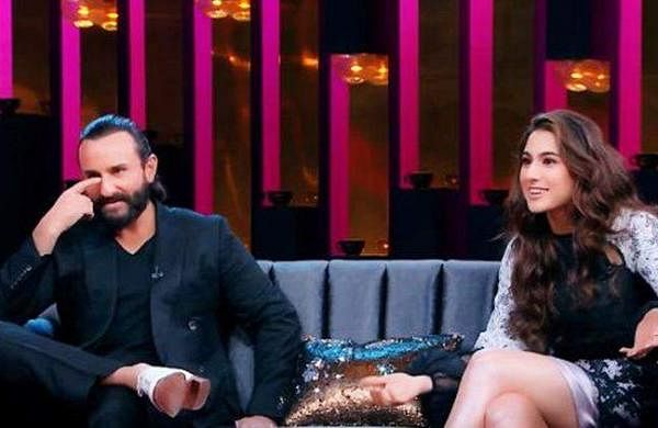 My mom dressed me for my father's marriage:Sara Ali Khan reveals on Koffee with Karan