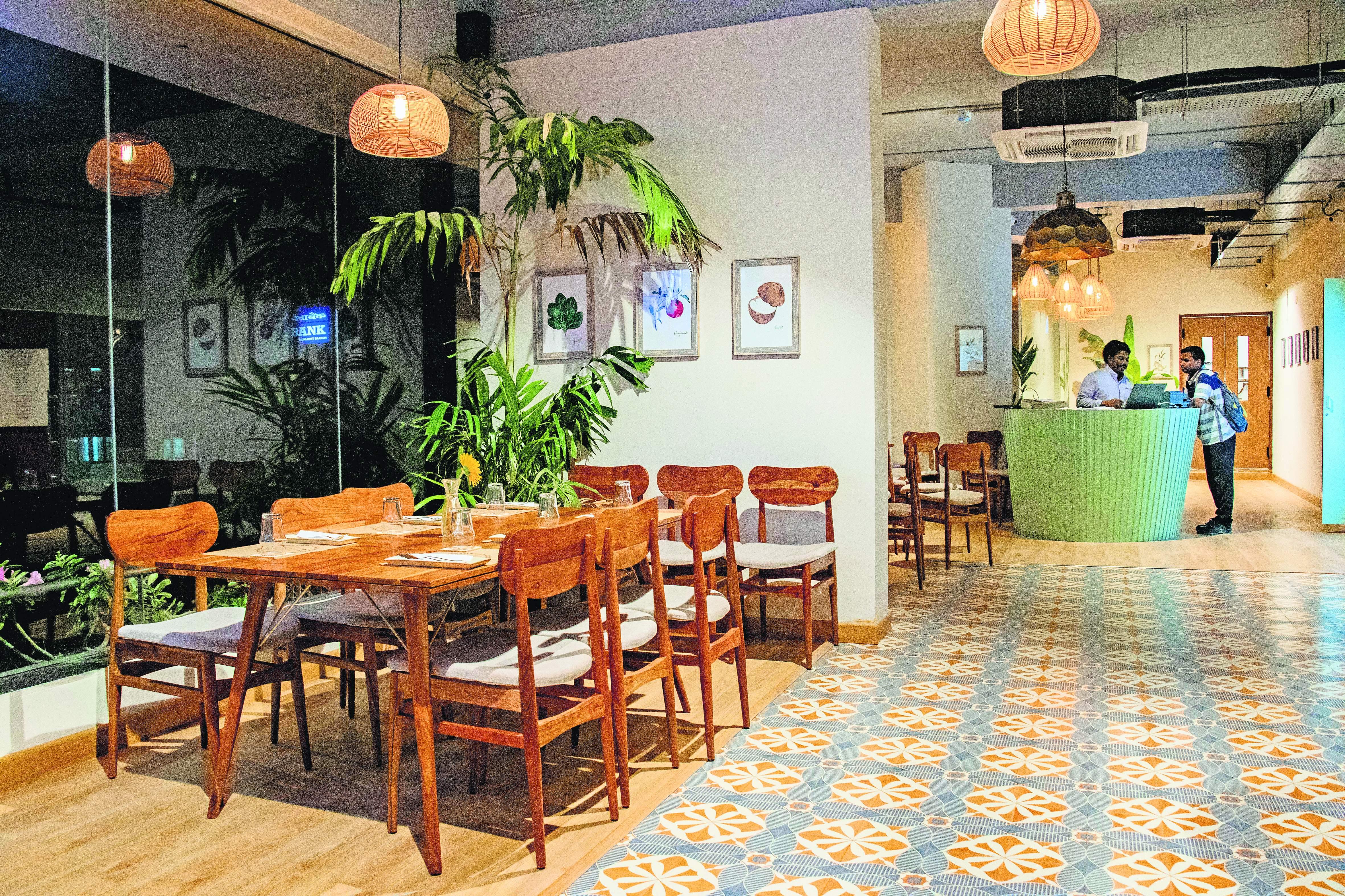 Fab Cafe in Alwarpet, Chennai
