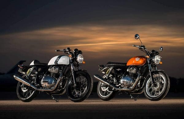 The Royal Enfield Twins 650cc - Interceptor & Continental GT