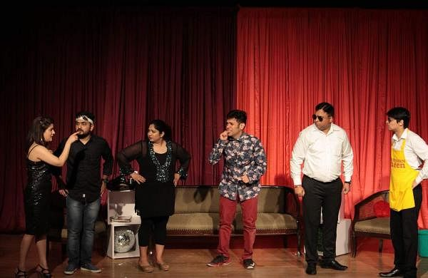 Behroopiya Entertainers Plays at Chennai