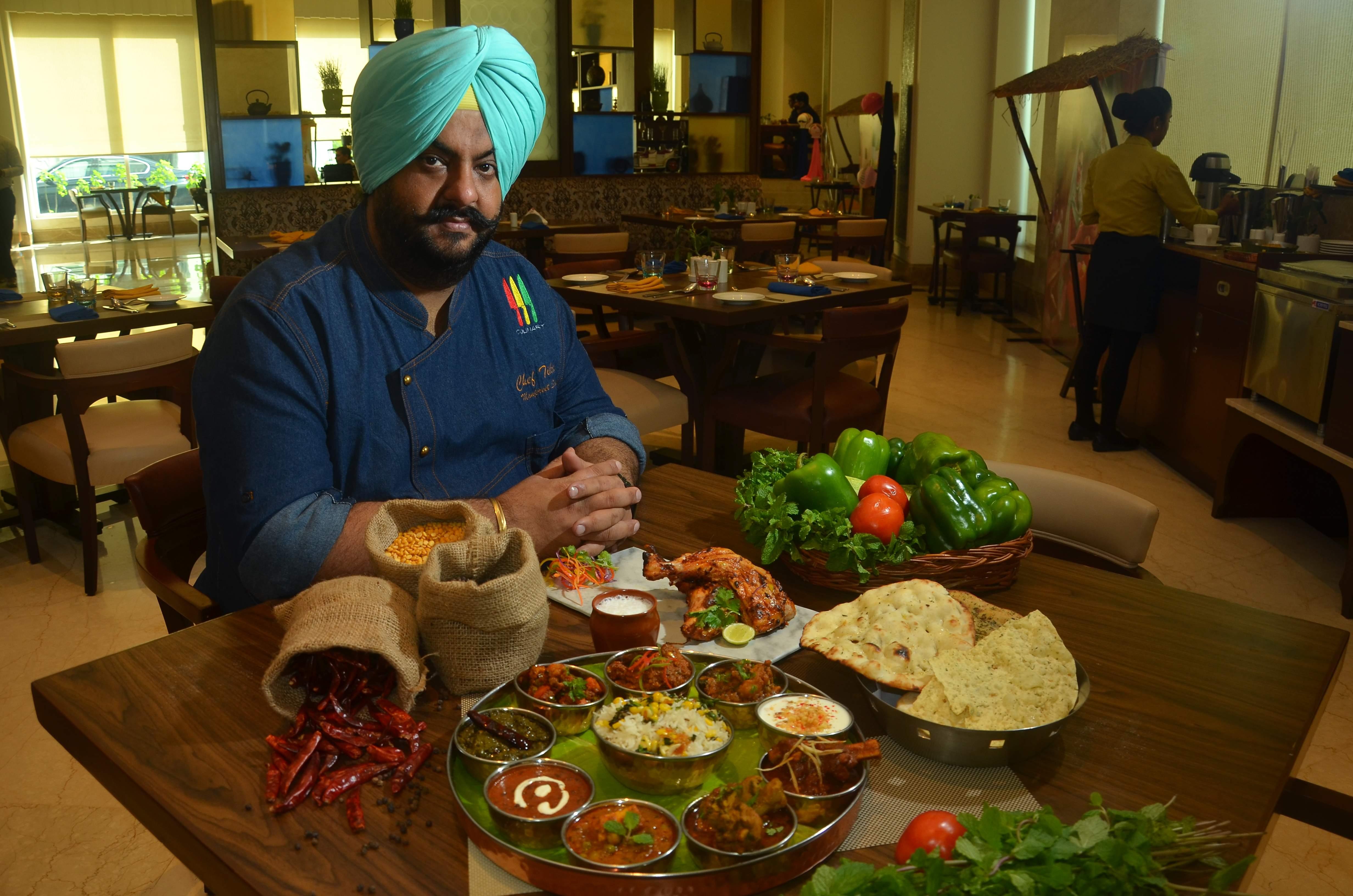 Chef Tikka Manpreet Singh