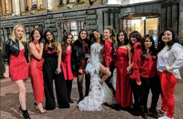 Priyanka Chopra with her girl gang