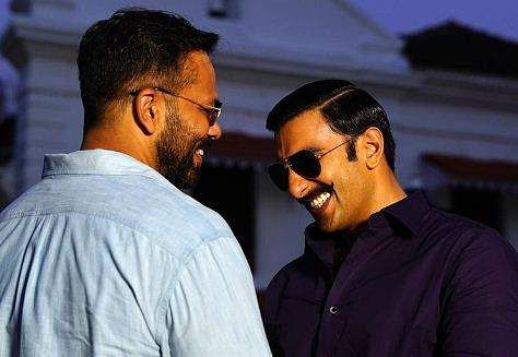 Rohit Shetty and Ranveer Singh