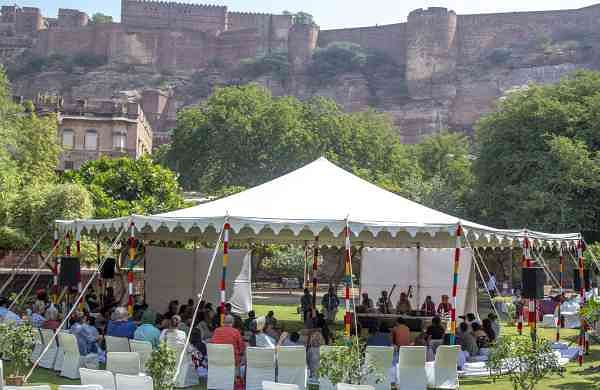 JodhpurRIFF festival at Mehrangarh Fort