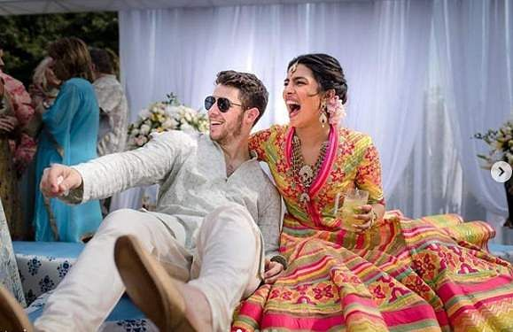 Priyanka Chopra and Nick Jonas get married in a Christian ceremony in Jodhpur