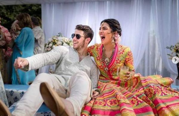Priyanka Chopra and Nick Jonas get married in a Christian ceremony in Jodhpur