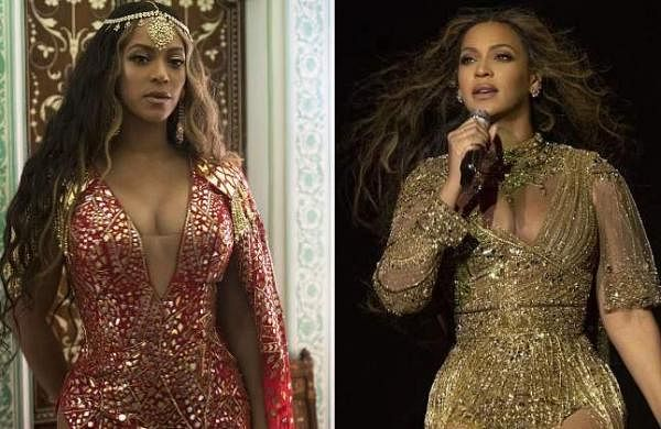 See Pictures: Beyonce wears Abu Jani-Sandeep Khosla ensemble at Isha Ambani's sangeet, shares video