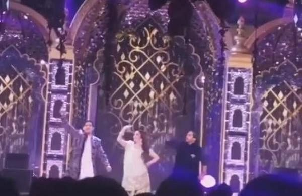 Watch: Nita Ambani perform with sons Akash and Anant for Isha Ambani's pre-wedding celebrations