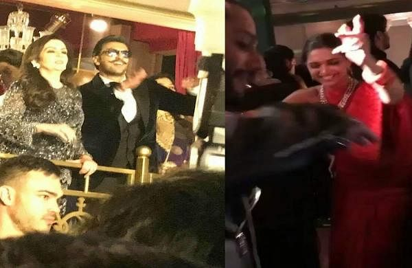 Watch: Deepika Padukone, Ranveer Singh dance away at Isha Ambani's sangeet in Udaipur