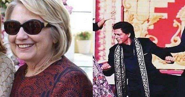 Watch: Video ofShah Rukh Khan makingJohn Kerry, Hillary Clinton dance to Bollywood songs is going