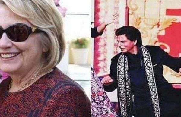 Watch: Video of Shah Rukh Khan making John Kerry, Hillary Clinton dance to Bollywood songs is going
