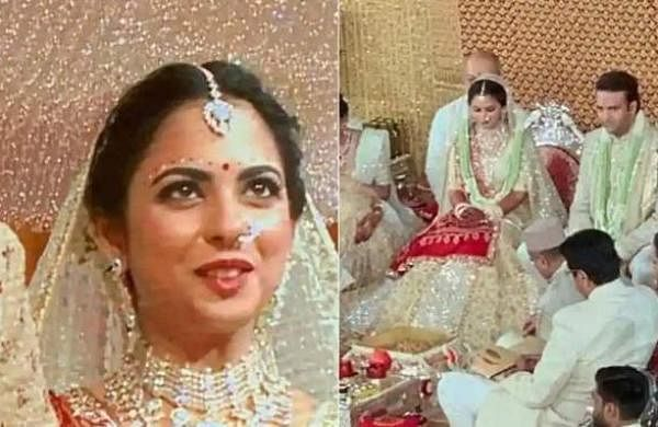 Isha Ambani gets married to Anand Piramal. First pictures out!