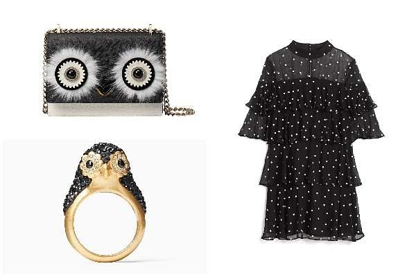 Kate Spade's Holiday 2018 Collection takes design inspiration from penguins and the Manhattan skylin