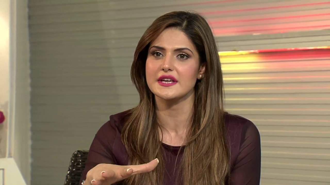 Zareen Khan accident