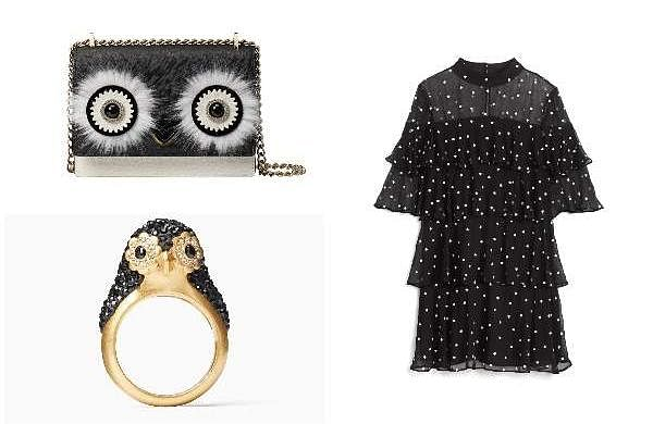 Kate Spade's Holiday 2018 Collectiontakes design inspiration from penguins andthe Manhattan skylin