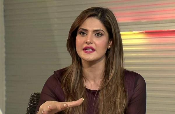 Zareen Khan accident