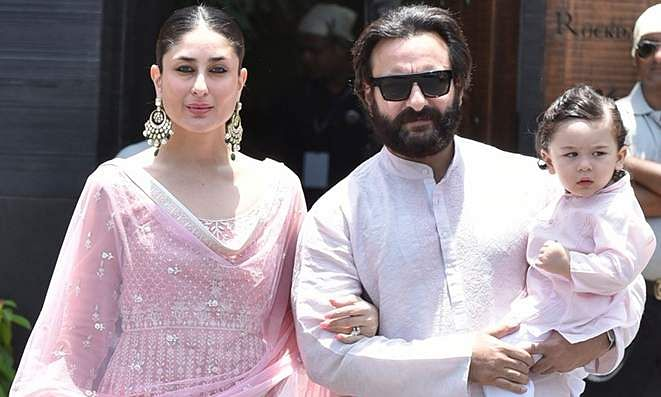 Taimur, Kareena and Saif