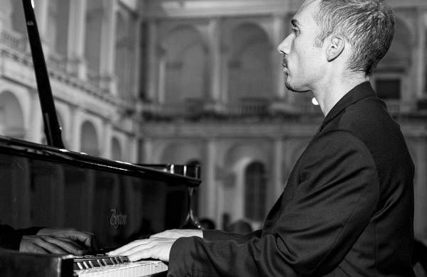 Italian composer Orazio Sciortino Kolkata