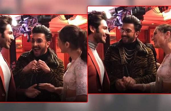 Watch: Ranveer Singh introduces Sara Ali Khan to crush Kartik Aaryan, video goes viral