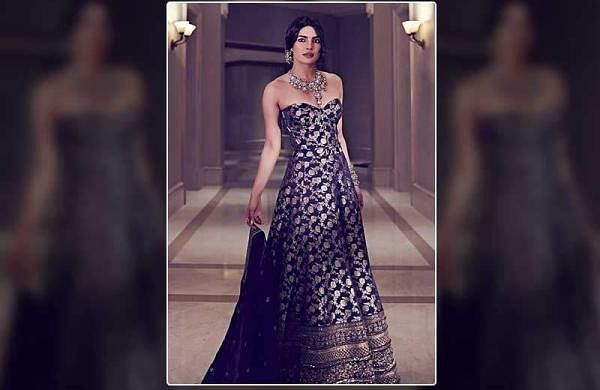 Watch: Designer Sabyasachi shares the making video of Priyanka Chopra's grand reception lehenga
