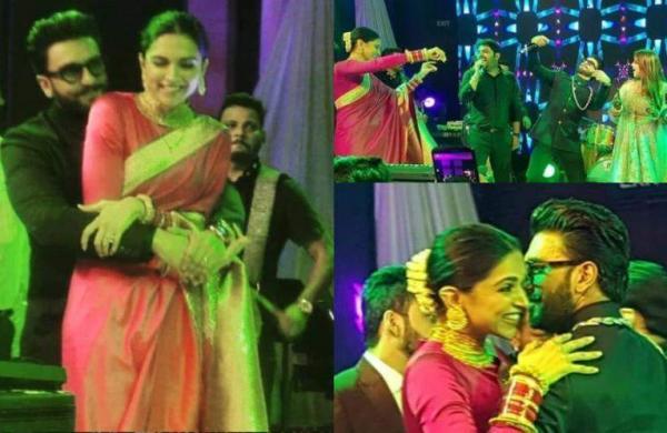 Watch: Deepika Padukone, Ranveer Singh dance away atKapil Sharma-Ginni Chatrath wedding reception i