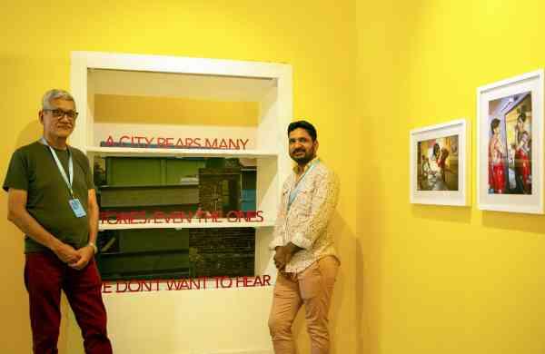 Sunil Gupta & Charan Singh Kochi Muziris Biennale 2018