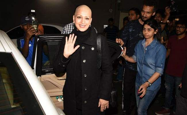 Sonali Bendre returns to Mumbai, 'treatment has ended and she's back for good,' says husband