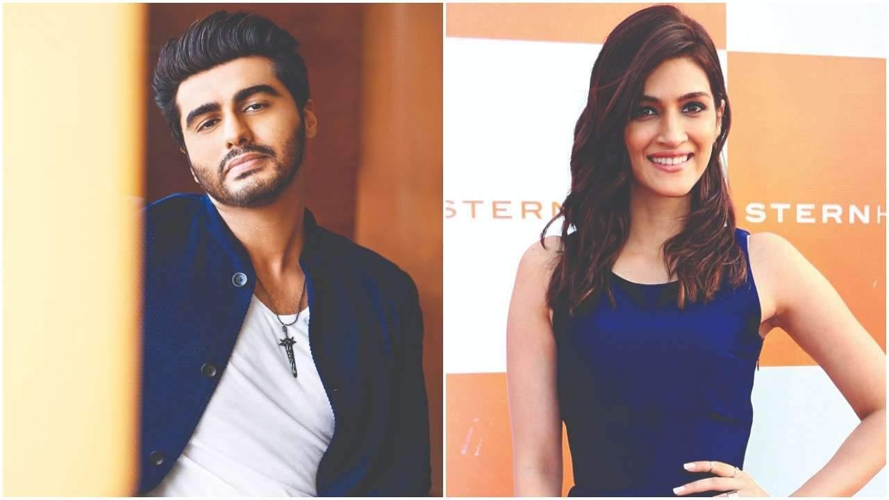 Arjun Kapoor and Kriti Sanon