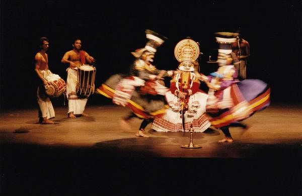 The Annette Leday/Keli Company presents Shakespeare's King Lear through kathakali