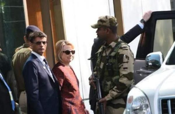 Hilary Clinton arrives in Udaipur for Isha Ambani, Anand Piramal wedding celebrations