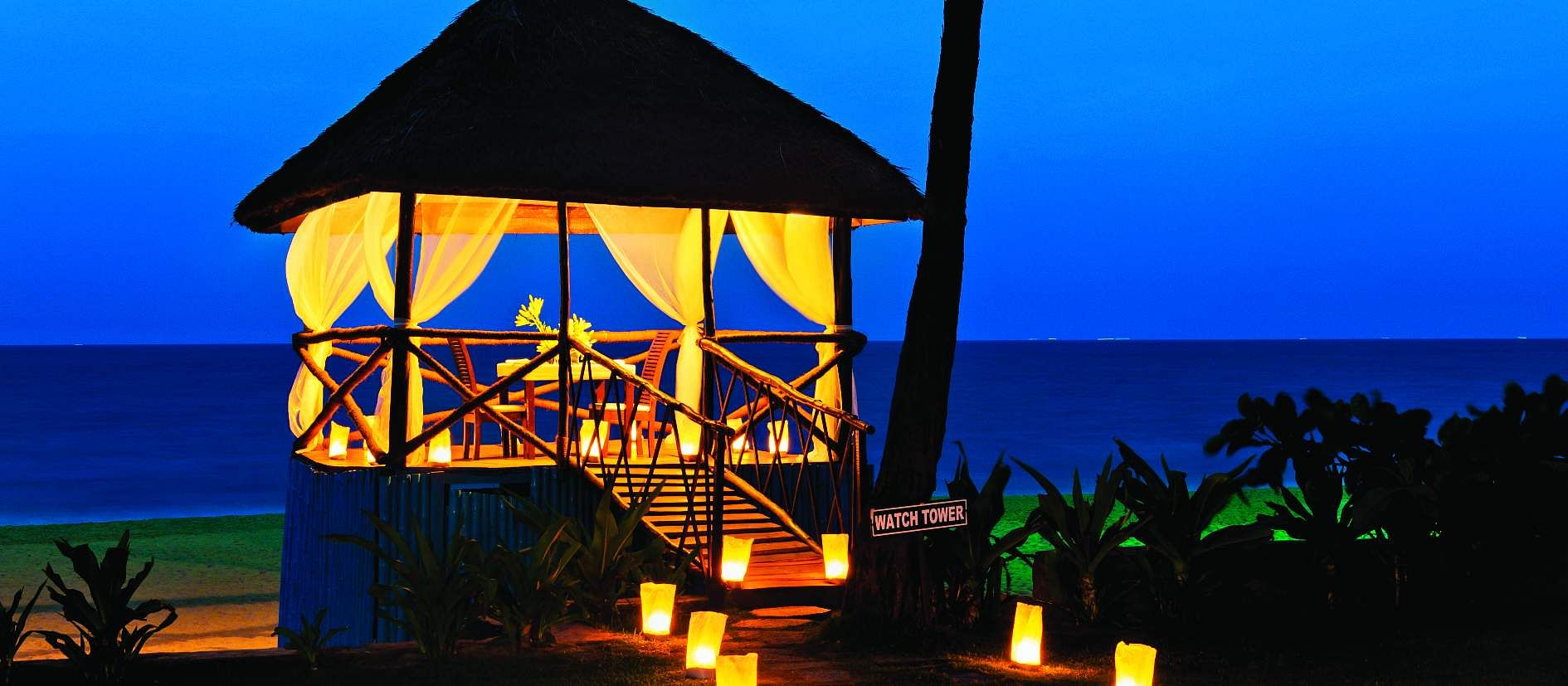 The perfect setting for a date at Taj - Fisherman's Cove