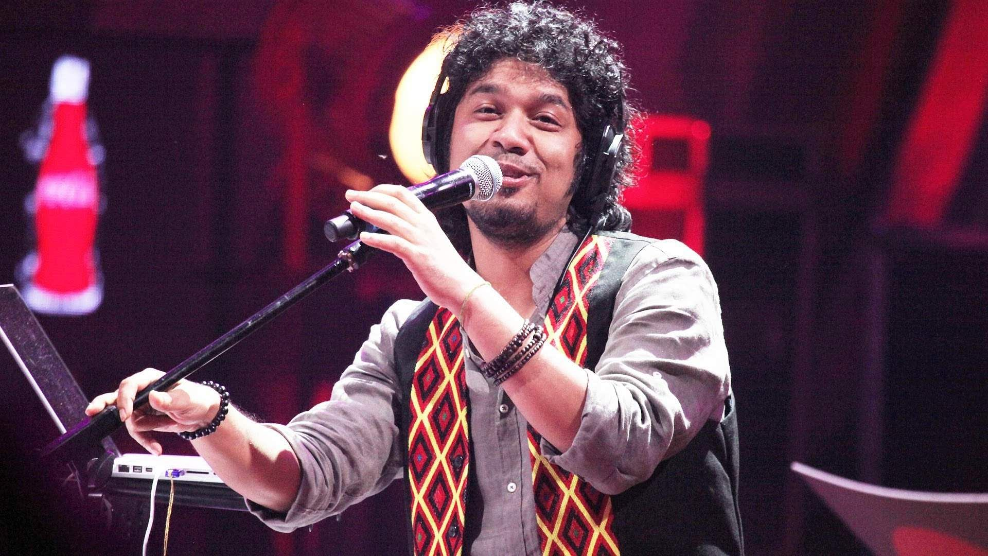 Complaint filed against singer Papon for kissing underage girl on reality show