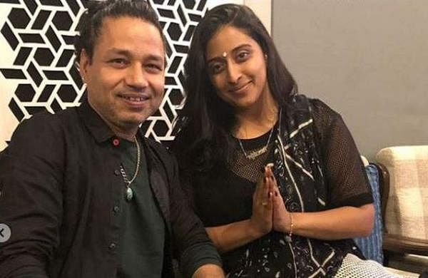 Kailash Kher and Raja Kumari