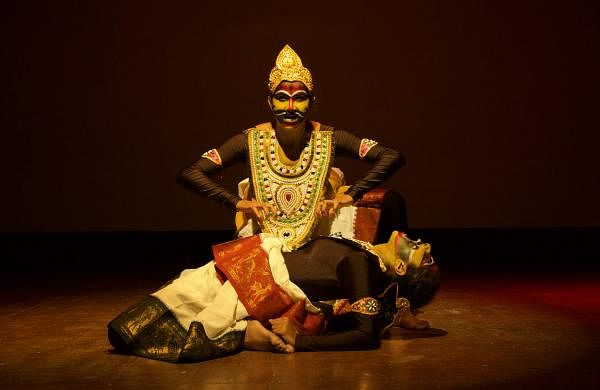 A scene from The Curse of Urvashi