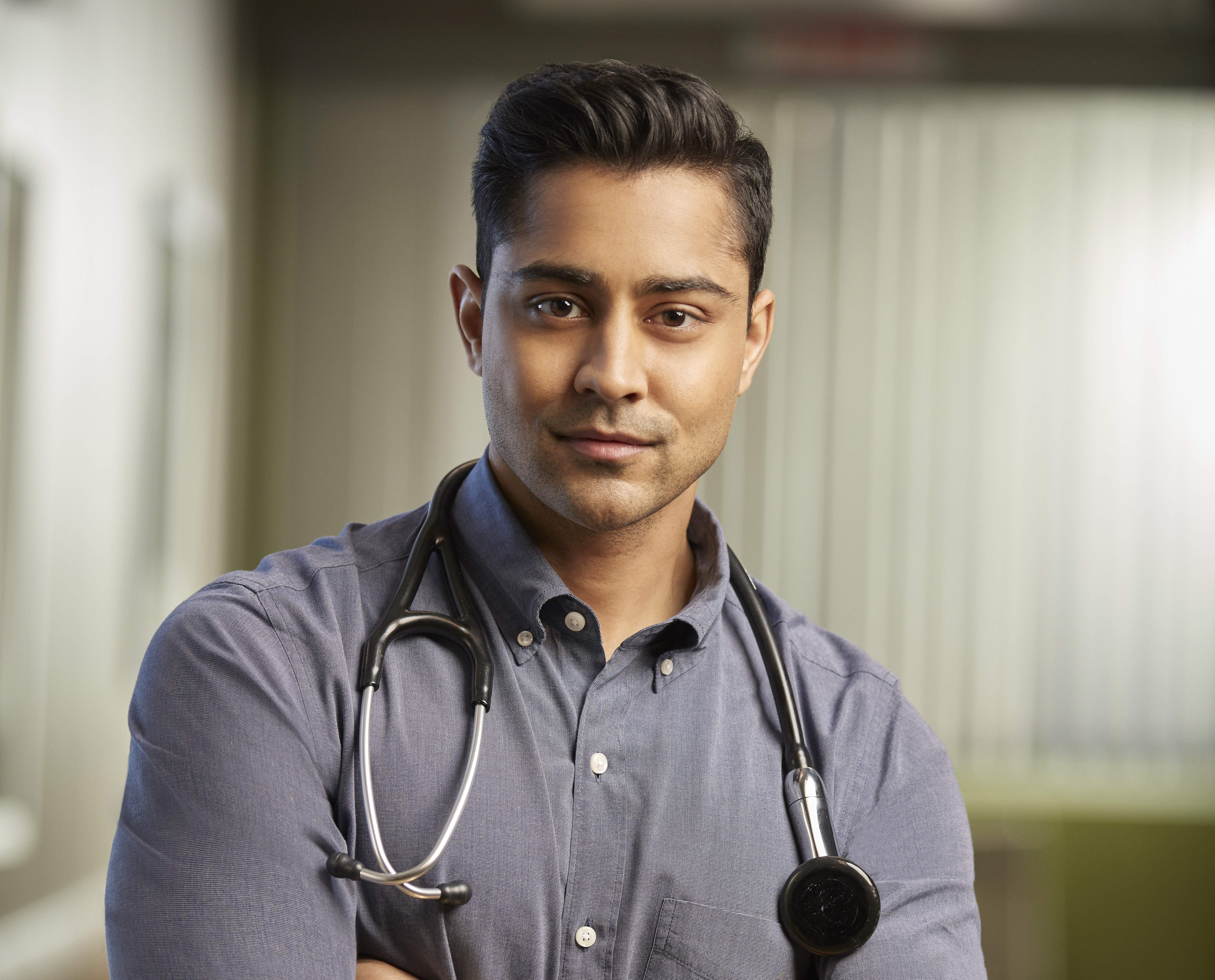 This Indian American actor from The Resident is hottest ...