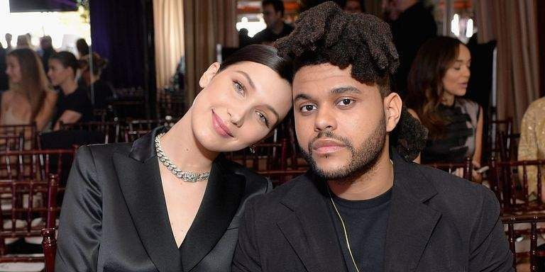 Bella Hadid and The Weeknd cosy up at Cannes Film Festival