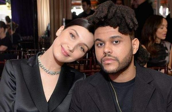 Bella Hadid and the Weekend