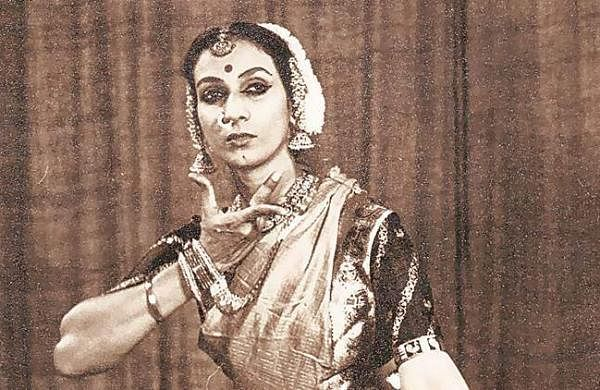 Indian classical dancer Mrinalini Sarabhai