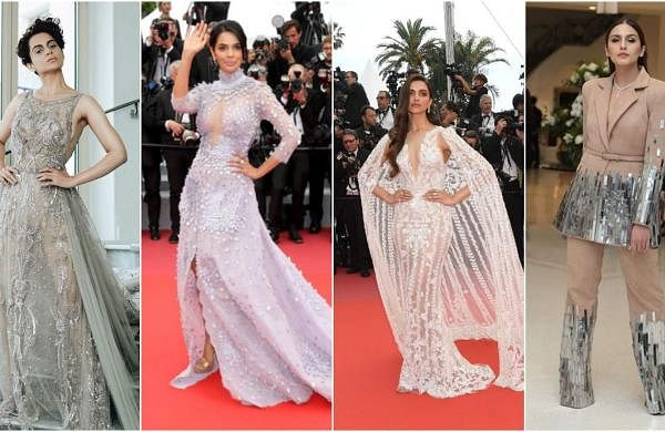 Kangana Ranaut, Mallika Sherawat, Deepika Padukone and Huma Qureshi at Cannes 2018