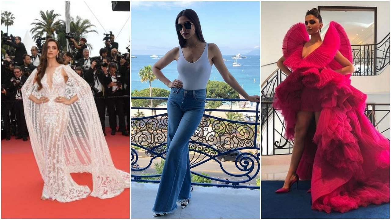 Take a look at the many gorgeous outfits Deepika Padukone sported at the Cannes Film Festival 2018