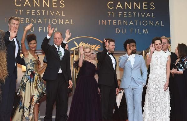 Solo: A Star Wars Story cast dazzled onlookers as they walked the red carpet at Cannes 20
