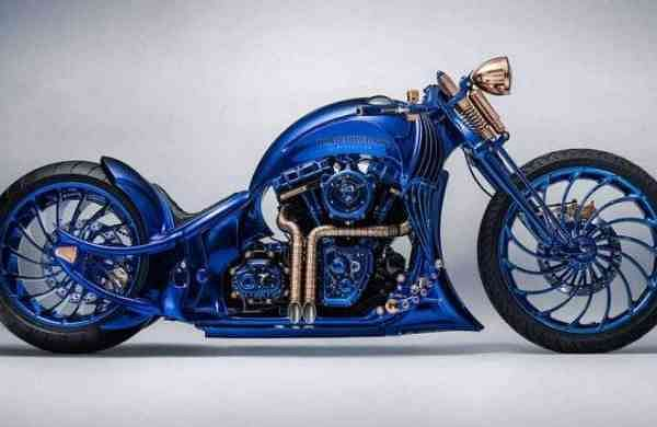 Harley-Davidson Blue Edition i