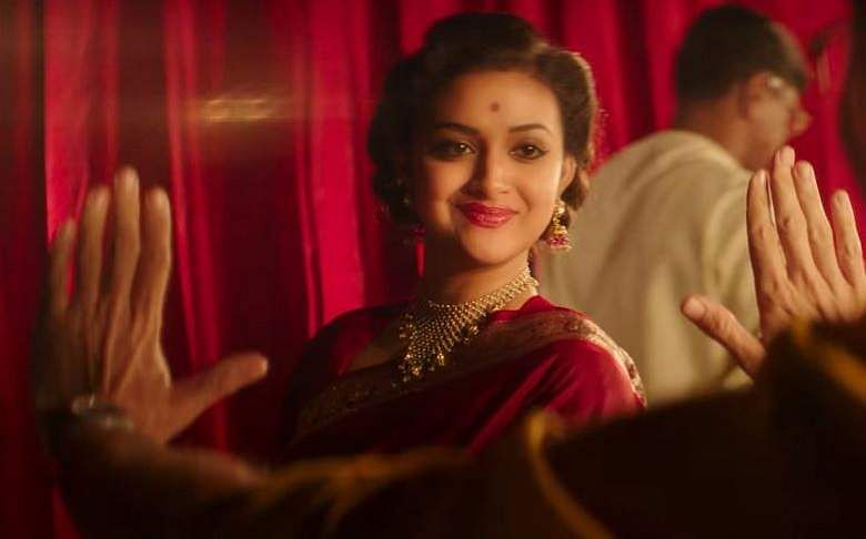 actress keerthi suresh will appear in over 120 costumes in her