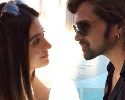 Himesh Reshammiya and Sonia Kapoor on their honeymoon in Dubai