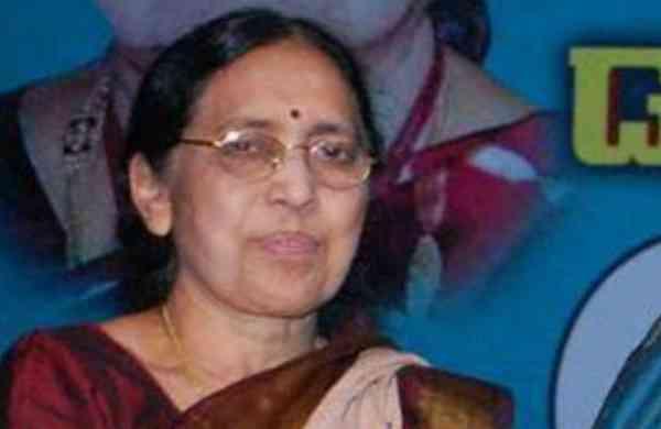 Telugu novelist Yaddanapudi Sulochana Rani